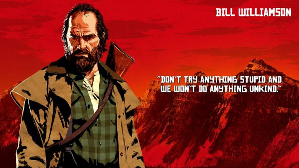 bill williamson - red dead redemption 2