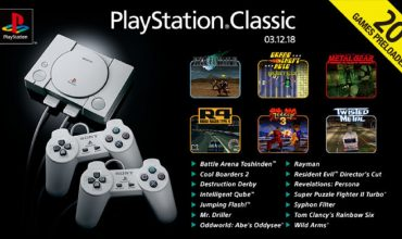 PlayStation Classic games revealed