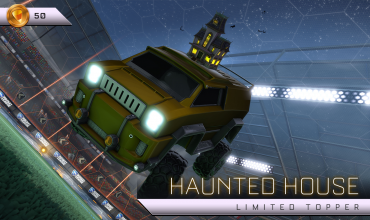Haunted Hallows returns to Rocket League on October 15th