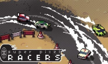 Arcade racer Super Pixel Racers announced