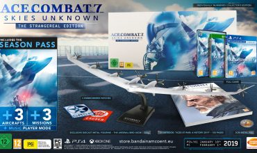 Ace Combat 7: Skies Unknown Collector's Edition unveiled
