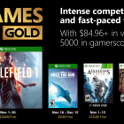 Xbox Games with Gold for November 2018 include Battlefield 1